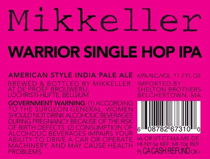Mikkeller Warrior Single Hop IPA