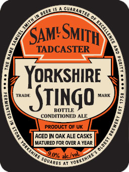 Samuel Smith's Yorkshire Stingo – Second Annual Release