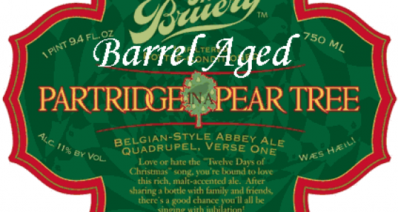 Barrel Aged Partridge in a Pear Tree