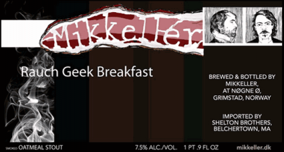 Mikkeller Rauch Geek Breakfast