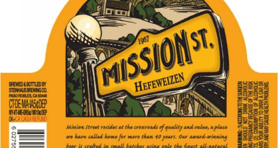 mission St Hefeweizen
