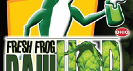 Hoppin Frog Fresh Frog Raw Hop Imperial Pale Ale