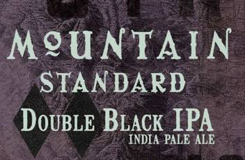 Odell Mountain Standard Double Black IPA
