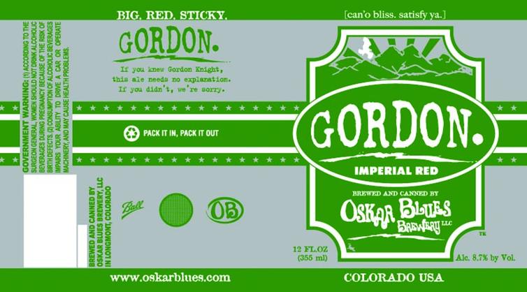 Oskar Blues Gordon