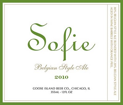 Goose Island Sofie 2010