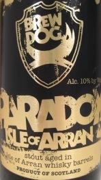 BrewDog Paradox Isle of Arran