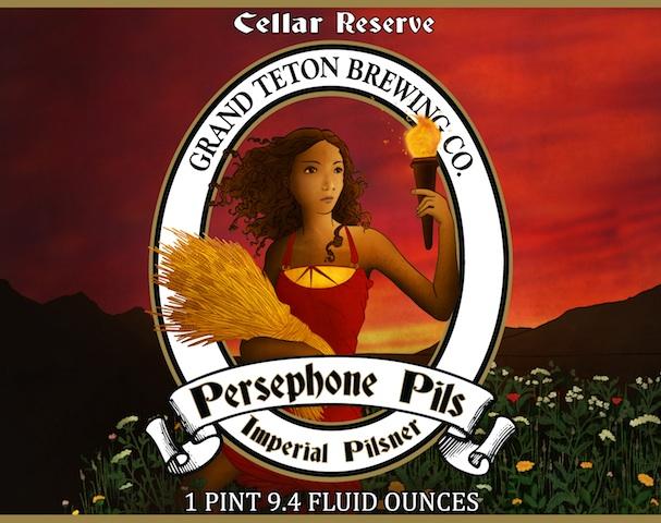 Grand Teton Persephone Imperial Pilsner