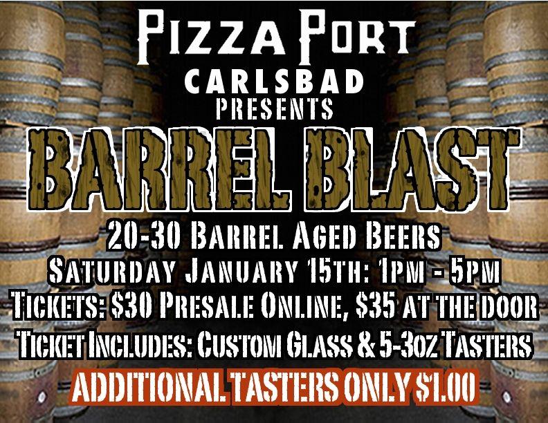 Pizza Port - Barrel Blast 2011