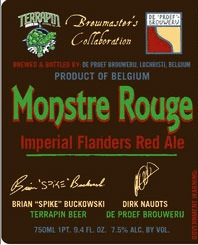 De Proef Terrapin Monstre Rouge