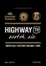 Stone Green Flash Pizza Port Highway 78 Scotch Ale