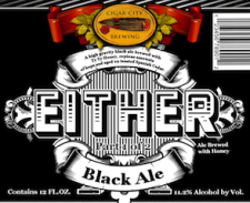 Cigar City Brewing Either Black Ale