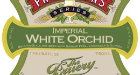 The Bruery Provisions Series: Imperial White Orchid