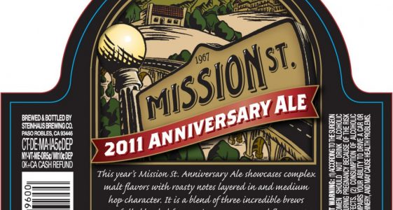 Mission Street 2011 Anniversary Ale