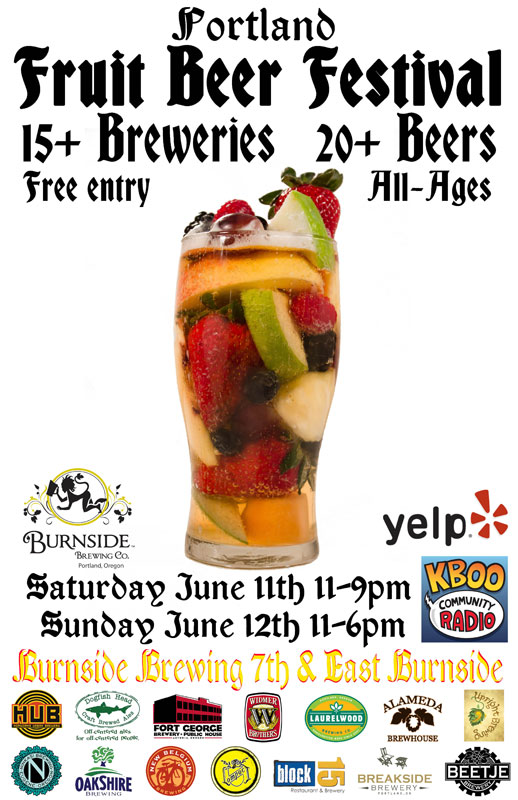 First annual Portland Fruit Beer Festival