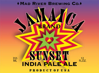 Mad River Jamaica Sunset India Pale Ale
