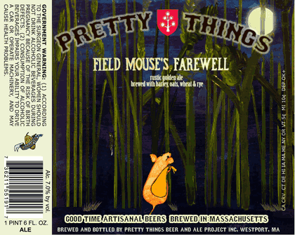 Pretty Things Field Mouse