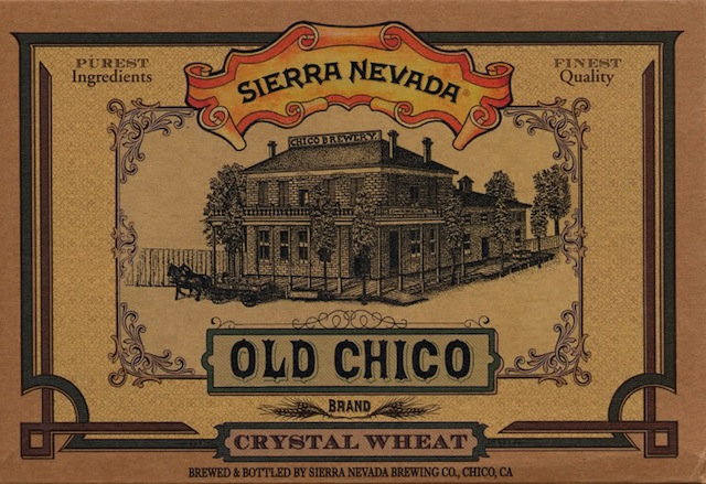 Sierra Nevada Old Chico Brand Crystal Wheat
