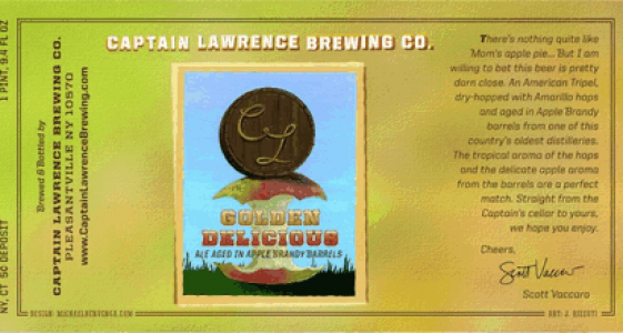 Captain Lawrence Golden Delicious