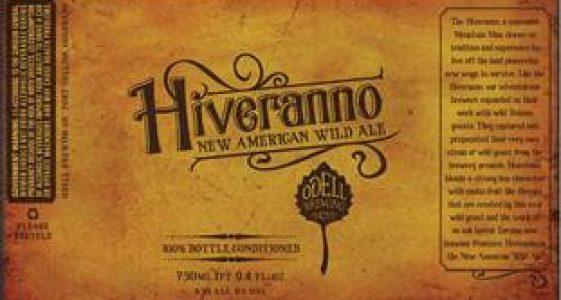 Odell Brewing - Hiveranno New American Wild Ale (label)