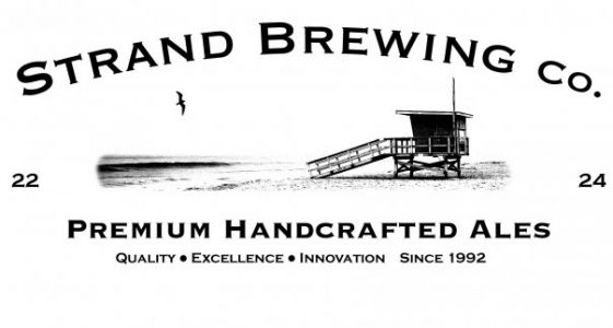 Strand Brewing Logo White