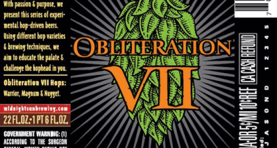 Midnight Sun Obliteration VII