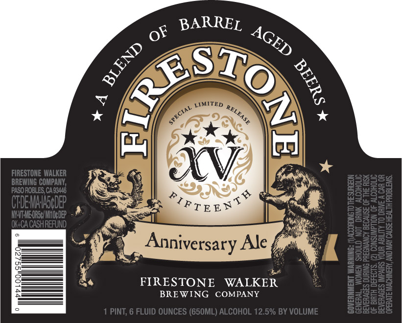 Firestone 15 Label