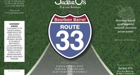 Jackie Os Bourbon Barrel Aged Rt 33