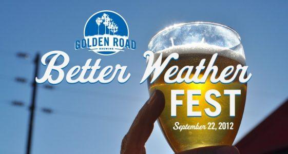 Better Weather Fest Ticket Giveaway for LA Beer Week 2012