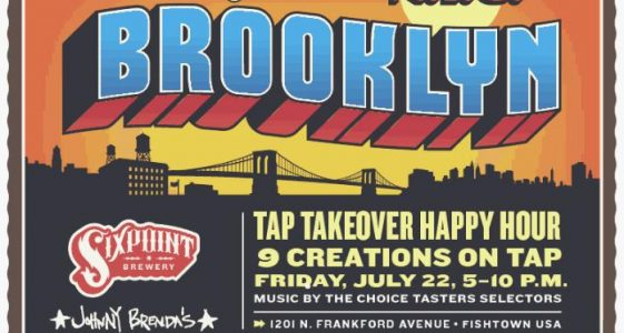 Sixpoint Brewery Tap-Takeover at Johnny Brendas