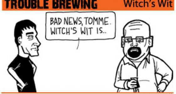 Trouble Brewing - Witch