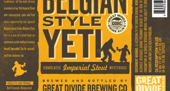 Great Divide Belgian Style Yeti