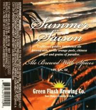 Green Flash Summer Saison