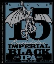 Stone 15th Anniversary Escondidian Imperial Black IPA