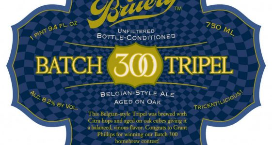 The Bruery Batch 300 Tripel