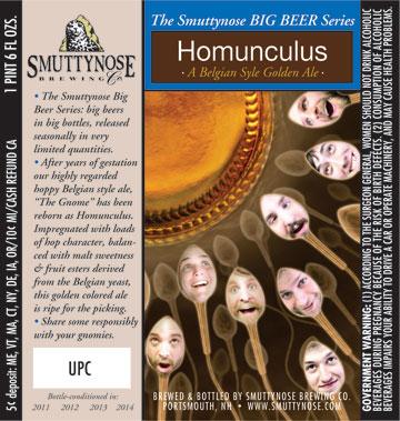 Smuttynose Homunculus