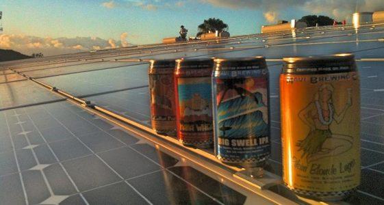 Maui Brewing - Solar Panel