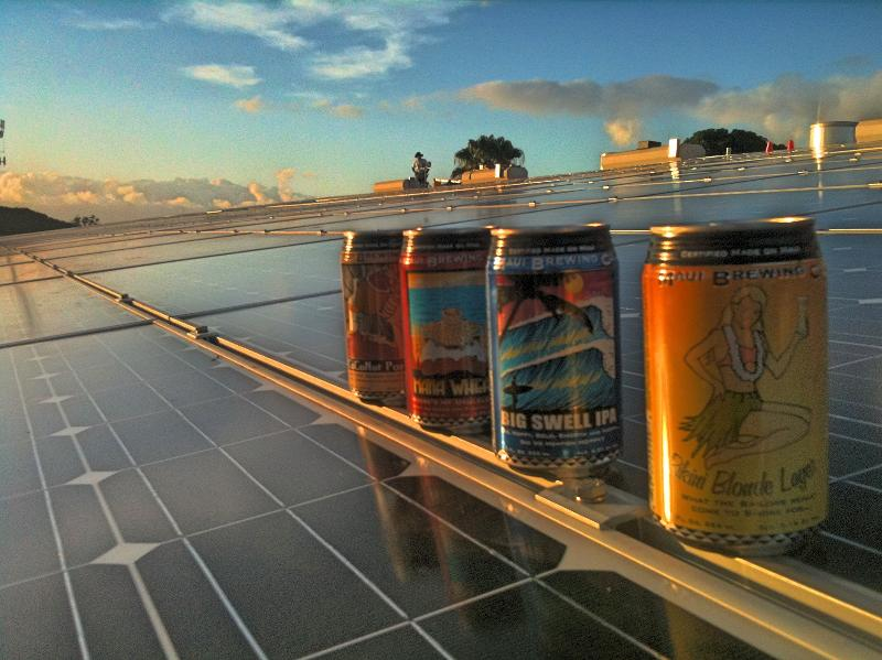 Maui Brewing Co S Production Brewery Goes Solar