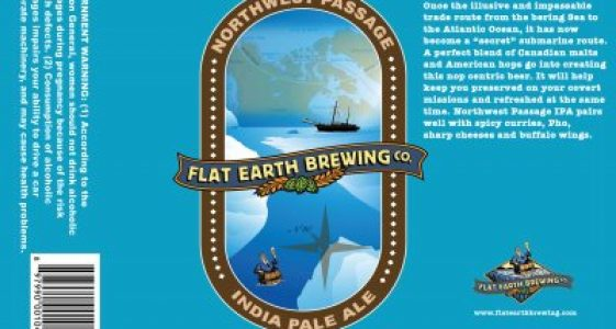 Flat Earth Northwest Passage IPA