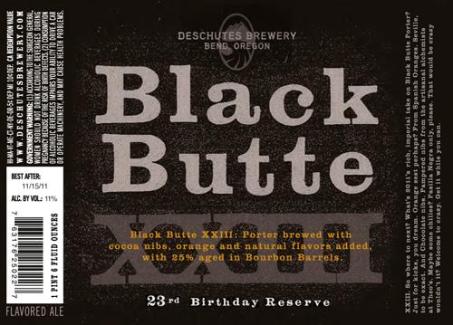 Deschutes Black Butte XXIII