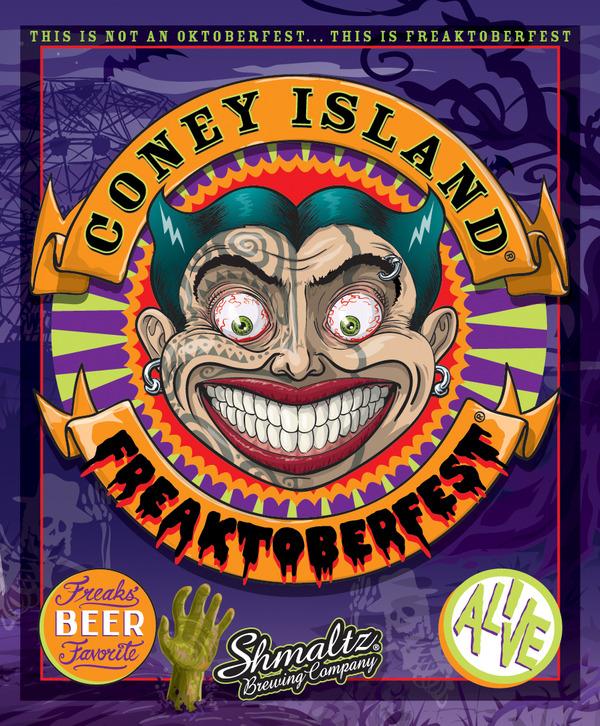 shmaltz brewing coney island freaktoberfest