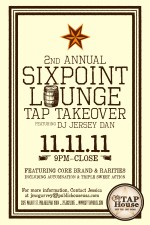 2nd Annual Sixpoint Lounge Tap Takeover