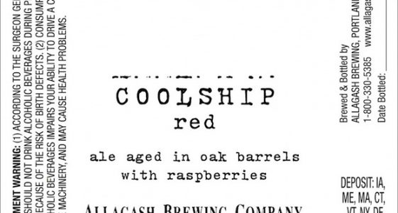 Allagash Coolship Red