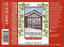 New Belgium Snow Day Ale