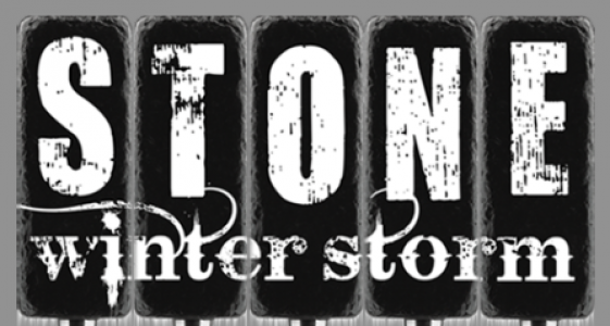 Stone Winter Storm