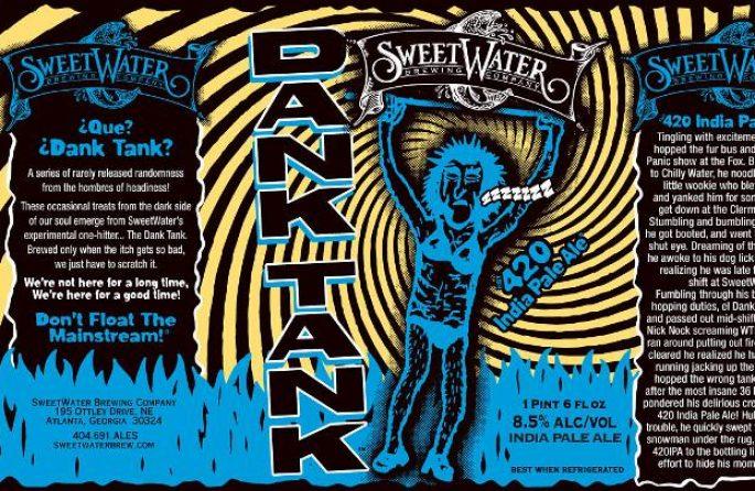 SweetWater 420 IPA Dank Tank