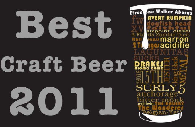 Best Craft Beer 2011