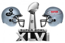 Super Bowl 46 - Brooklyn Brewery vs. Harpoon Brewery (featured)