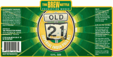 TBK Production Works Old 21 Imperial IPA