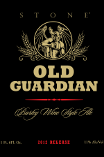 Stone Brewing - Old Guardian 2012 (front)