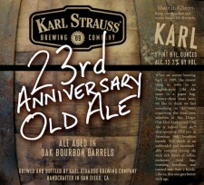 Karl Strauss 23rd Anniversary Old Ale
